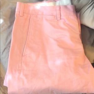 Polo pink dress pants for men